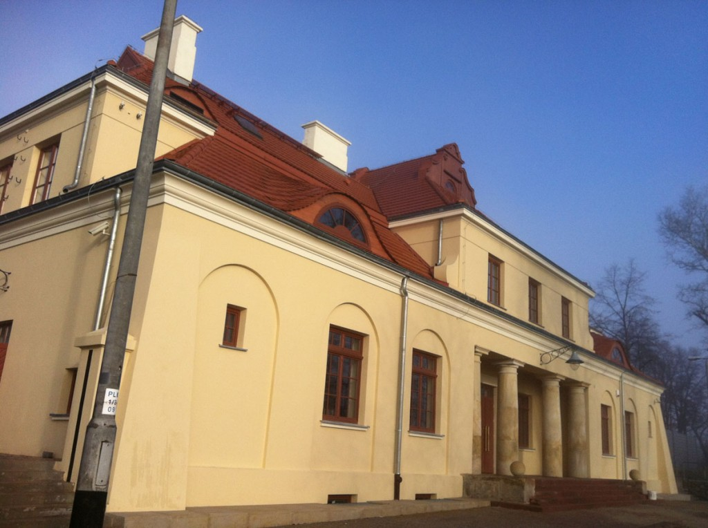 Dworzec w Modlinie